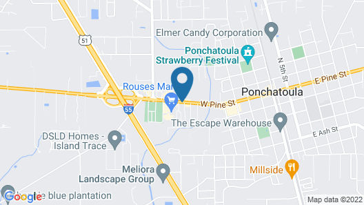 Microtel Inn & Suites by Wyndham Ponchatoula/Hammond Map