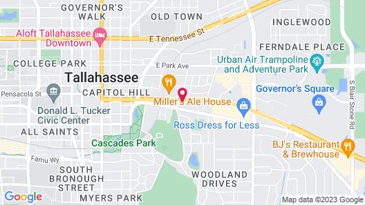 Econo Lodge Tallahassee Map
