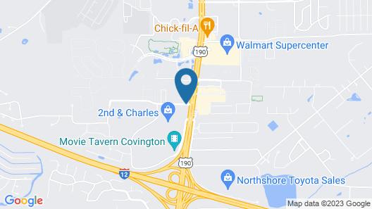 Country Inn & Suites by Radisson, Covington, LA Map