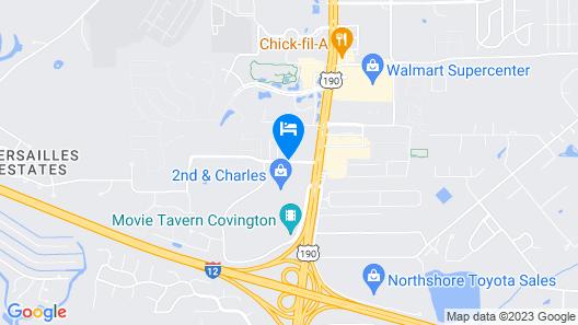 WeStay Suites - Covington/Mandeville Map