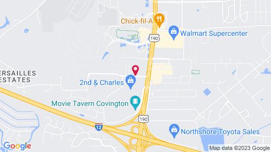 Homewood Suites Covington Map