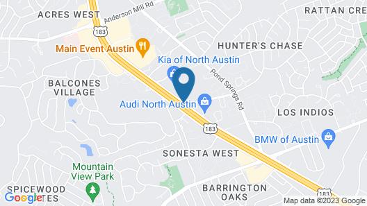 Fairfield Inn & Suites by Marriott Austin Northwest/Research Blvd Map