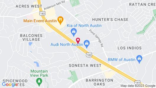 Staybridge Suites Austin NW, an IHG Hotel Map