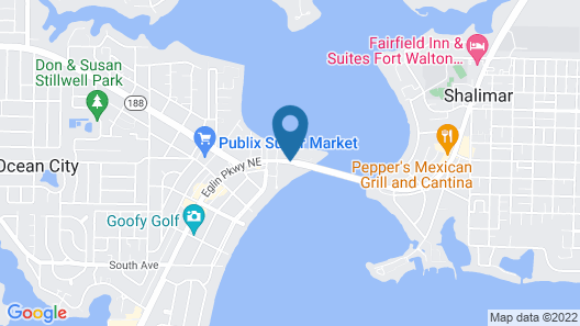 TownePlace Suites by Marriott Fort Walton Beach-Eglin AFB Map