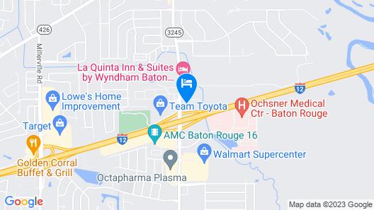 Quality Suites Baton Rouge East - Denham Springs Map