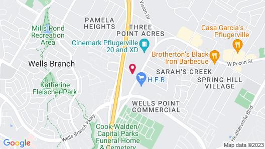 Comfort Suites Pflugerville - Austin North Map