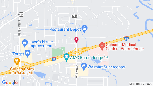 La Quinta Inn & Suites by Wyndham Baton Rouge Denham Springs Map