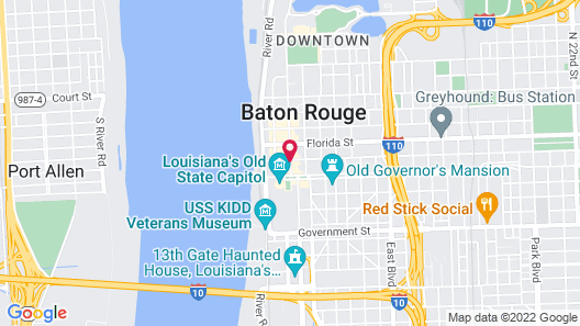 WATERMARK Baton Rouge, Autograph Collection Map