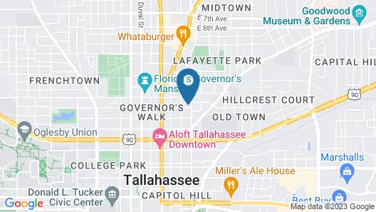 Midtown Guest Quarters Map