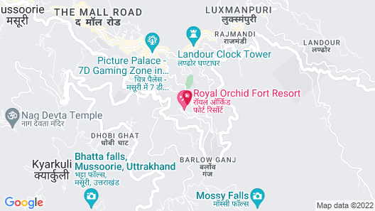 Royal Orchid Fort Resort Map