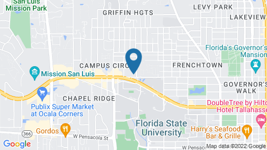 Holiday Inn Express Tallahassee University Central, an IHG Hotel Map