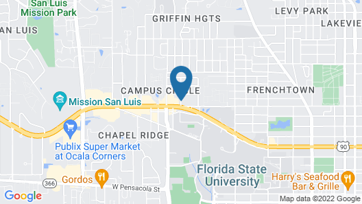 Days Inn by Wyndham Tallahassee University Center Map