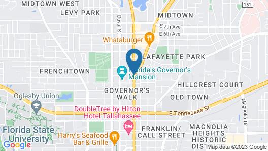Budgetel Tallahassee Map
