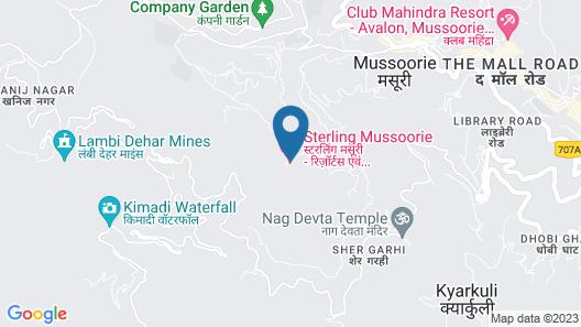 Sterling Mussoorie Map