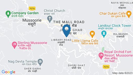 Madhuban Sarovar Portico Map