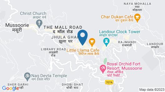 OYO 1617 Palm Retreat Map