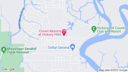 Crown Resorts at Hickory Hills Map