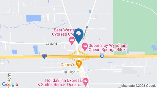 Country Inn & Suites by Radisson, Biloxi-Ocean Springs, MS Map