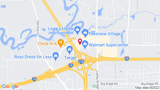 Comfort Inn & Suites Biloxi-D'Iberville Map