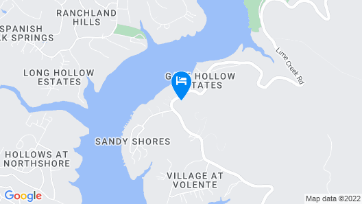 8413 Leander - 4 Br Home Map