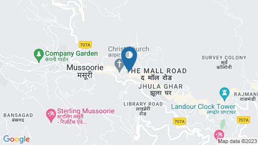 WelcomHeritage Kasmanda Palace Map