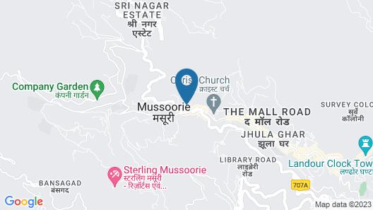 EllBee Mussoorie Hills Map