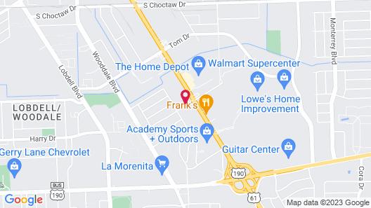 The Shades Motel Map