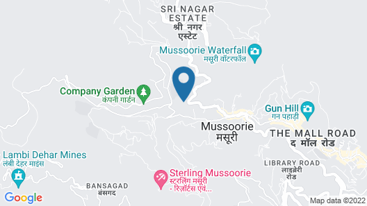 Country Inn & Suites by Radisson, Mussoorie Map