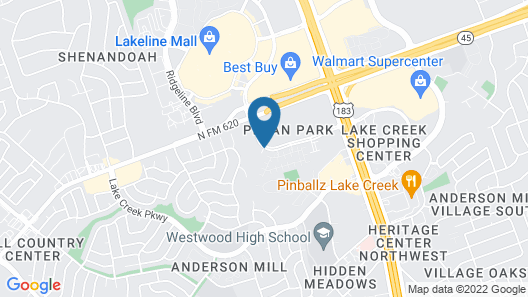 Hampton Inn & Suites Austin Cedar Park-Lakeline Map