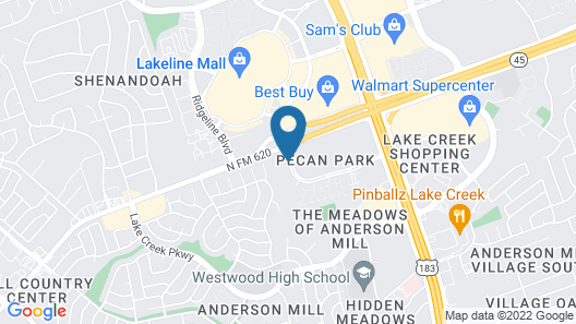 Holiday Inn Express & Suites Austin NW - Lakeline, an IHG Hotel Map