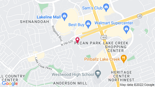 Holiday Inn Express & Suites Austin NW - Lakeline Map