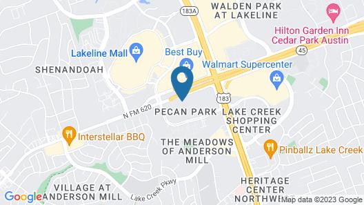 Courtyard by Marriott Austin Northwest/Lakeline Map