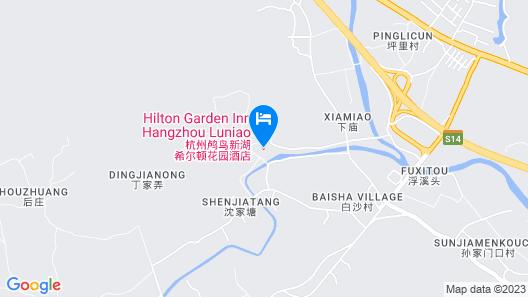 Hilton Garden Inn Hangzhou Lu'niao Map