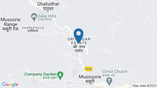 Hotel Sungrace Mussorie Map