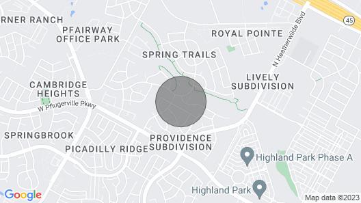 Spacious Pflugerville Getaway Pool Table Yard Map