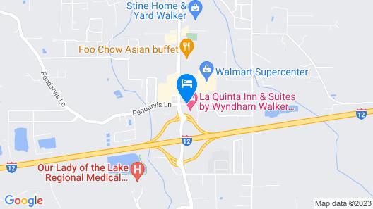 La Quinta Inn & Suites by Wyndham Walker - Denham Springs Map