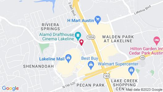 Home2 Suites by Hilton Austin/Cedar Park, TX Map
