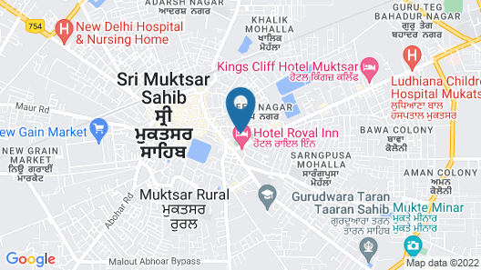Royal Inn Map
