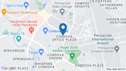 Homewood Suites by Hilton Pensacola Airport Map