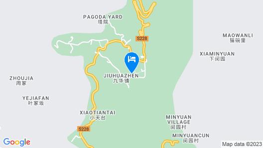 Jiuhua Mountain Banchumeisu Inn Map