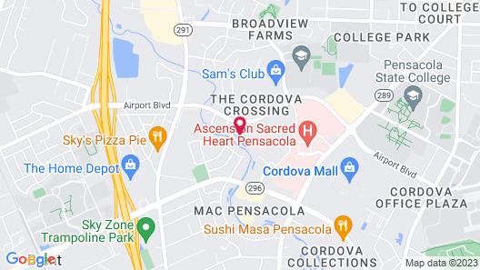 Residence Inn by Marriott Pensacola Airport/Medical Center Map