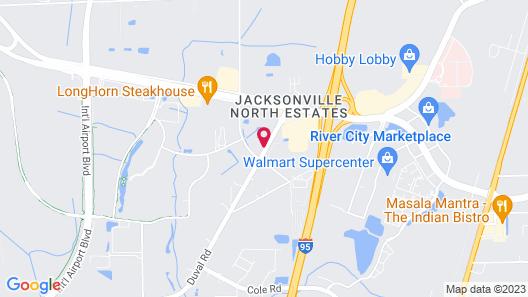 Hyatt Place Jacksonville Airport Map
