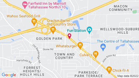 Howard Johnson by Wyndham Tallahassee Map