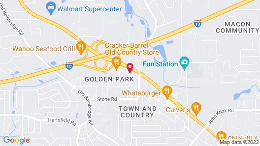 Days Inn & Suites by Wyndham Tallahassee Conf Center I-10 Map