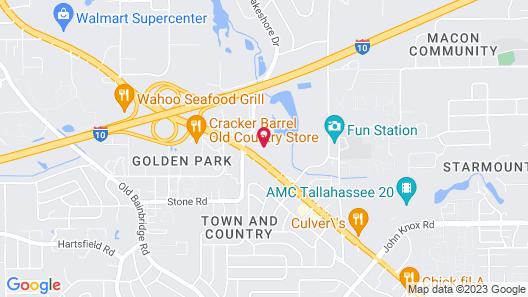 Seven Hills Suites Map