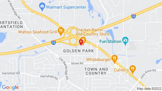 Red Roof Inn Tallahassee-University Map