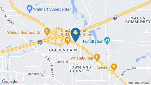 La Quinta Inn by Wyndham Tallahassee North Map