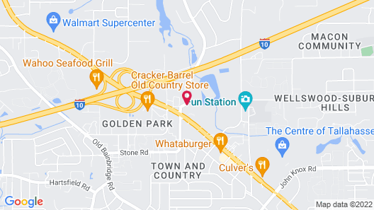 Candlewood Suites Tallahassee, an IHG Hotel Map