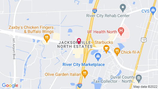 Red Roof Inn Jacksonville Airport Map