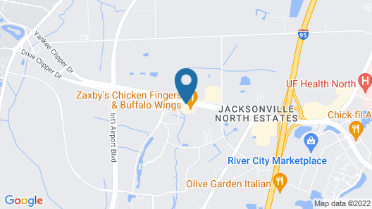Airport Motor Inn Lounge/Package Store Map